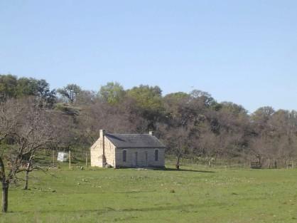 The cabin in Menard, TX.