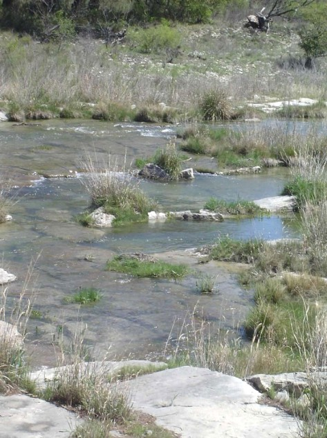 The San Saba River